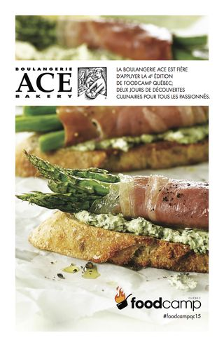 ACE au FoodCampQc2015